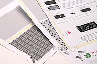 Бланки для бесконвертной технологии Pressure Seal