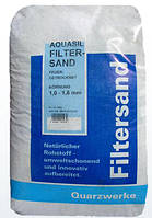 Кварцевый песок Filtersand 0,8–1,2 мм (25 кг)