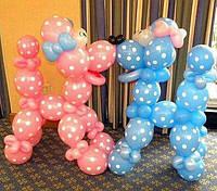 Собачки из воздушных шаров