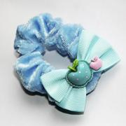 Резинка детская с атласным бантиком, 20 штук в упаковке