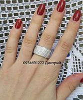 Серебряное кольцо Шик 7 рядов, фото 1