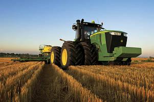 Заливка воды в сельскохозяйственные шины