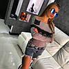 Кашемировая кофточка с кружевом и открытыми плечами, фото 3