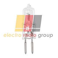JC-12V цоколь G4, 20W, прозрачная лампа галогенная капсульная