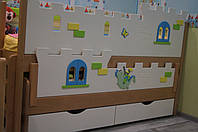 """Комплекс кроваток """"Замок"""" для двоих детей"""