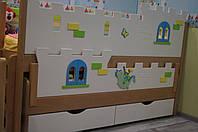 """Комплекс кроваток """"Замок"""" для двоих детей, фото 1"""