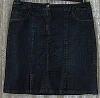 Юбка женская джинсовая модная демисезонная миди First Choice р.48 6334а