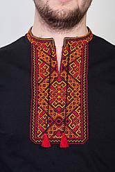 Вишита чоловіча футболка з орнаментом оригинальнным