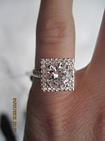 Шикарное кольцо из серебра
