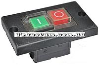 Кнопка бетономешалки на 4 контакта с пластиной