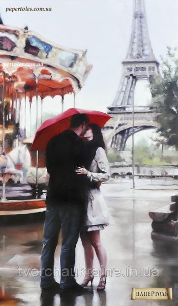 """Набір для створення об'ємної картини з паперу """"Наш Париж"""""""