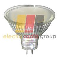 LB-24 MR16 G5.3 230V 3W 44LED 240Lm 6400K, матовая Светодиодная лампа