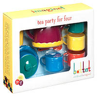 Игровой набор Чайная вечеринка (17 предметов, на 4 персоны), Battat Lite