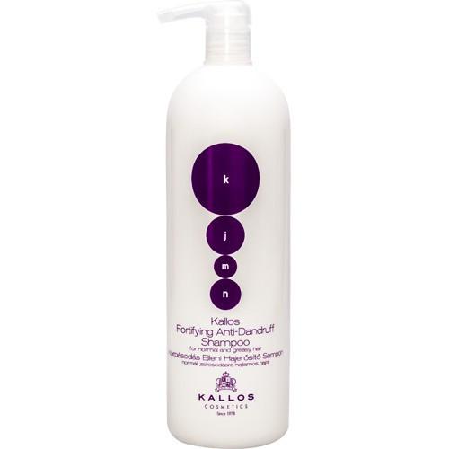 Укрепляющий шампунь против перхоти Kallos Fortifying Anti-Dandruff Shampoo, 1000 мл