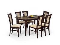 Стол для гостинной деревяный, раскладной Halmar Fryderyk 160/200
