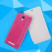 Чехол-книжка NILLKIN для телефона Xiaomi Redmi Note 2 розовый