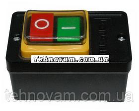 Кнопка бетономешалки в черном корпусе