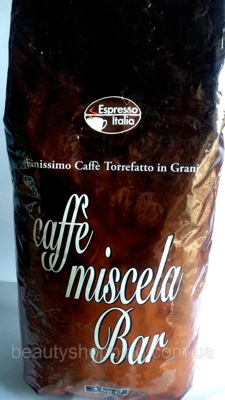 Кава в зернах Espresso Italia Caffe Miscela Bar 3кг Italia
