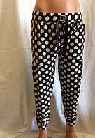 Шаровары женские  горох ( черно - белые)  / купить шаровары женские