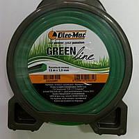Oleo-mac GREEN LINE 3.0 мм. 15 м. звездочка