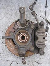 Поворотний кулак лівий (цапфа + гальмівний диск) б/у на Renault Master 3, Opel Movano, Nissan NV400