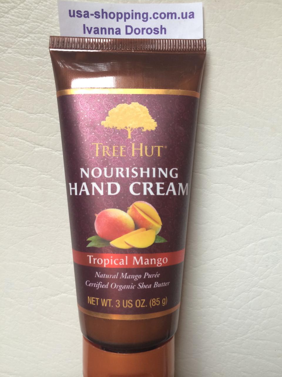 Крем для рук Tree Hut TROPICAL MANGO