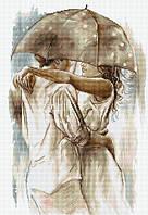 """Набор для вышивания крестом """"Luca-s"""" B2293 Под зонтом"""