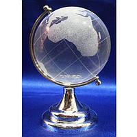 Глобус стеклянный декоративный диаметр 6 см