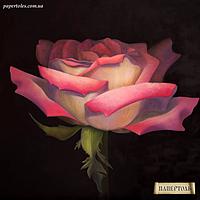 """Набор для создания объемной картины из бумаги """"Роза на рассвете"""""""