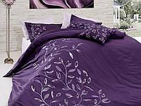 Комплект постельного белья vip сатин first choice евро размер casablanca mor