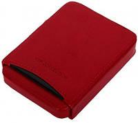 Неповторимый кожаный чехол для визитных и кредитных карт Vip Collection 09R PR красный