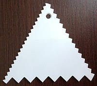 Скребок для работы с мастикой и кремом Треугольный