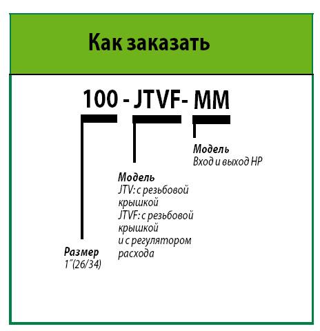 Электромагнитный клапан 100-JTV