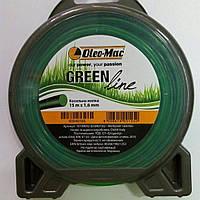 Oleo-mac GREEN LINE 1.6 мм. 15 м. круглая