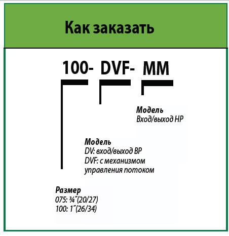 DV Электромагнитный клапан