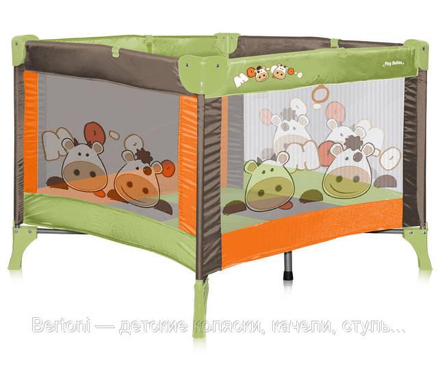 МАНЕЖ детский Bertoni PLAY STATION - Bertoni — детские коляски, качели, стульчики для кормления, автокресла, манежи, одежда и обувь в Днепре
