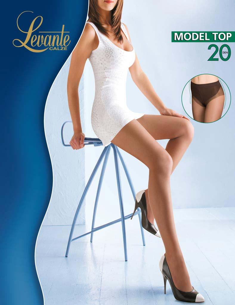 6049b28af1e4 Утягивающие колготки Levante Model Top 20 den