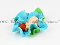Фигурки из мастики - Младенец в цветке - Мальчик