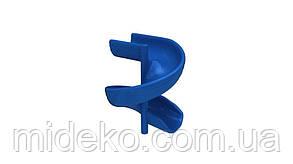 Горка стеклопластиковая спираль, высота 1,5 м