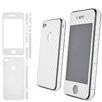 Защитная пленка IPhone 5 CARBON White.