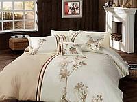 Комплект постельного белья vip сатин first choice евро размер dia