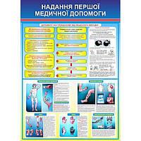 Информационный стенд Перша медична допомога