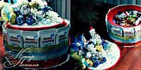 Торт новогодний из Киндер шоколада  Country