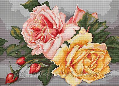 """Набор для вышивания гобелена """"Luca-S"""" G485 Розы"""