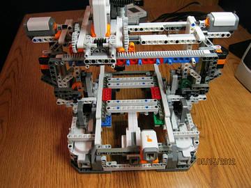 3D-принтер из LEGO - вот чего не ожидали...