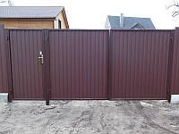 Ворота распашные с установкой 4*2 метра