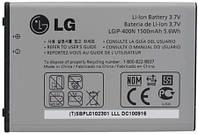 Аккумулятор LG LGIP-400N на LG P500, P520, GX200, GX300, GX500, GT540, ОРИГИНАЛ