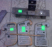 Кронштейн крепления грузов мтз-80  70-4235020