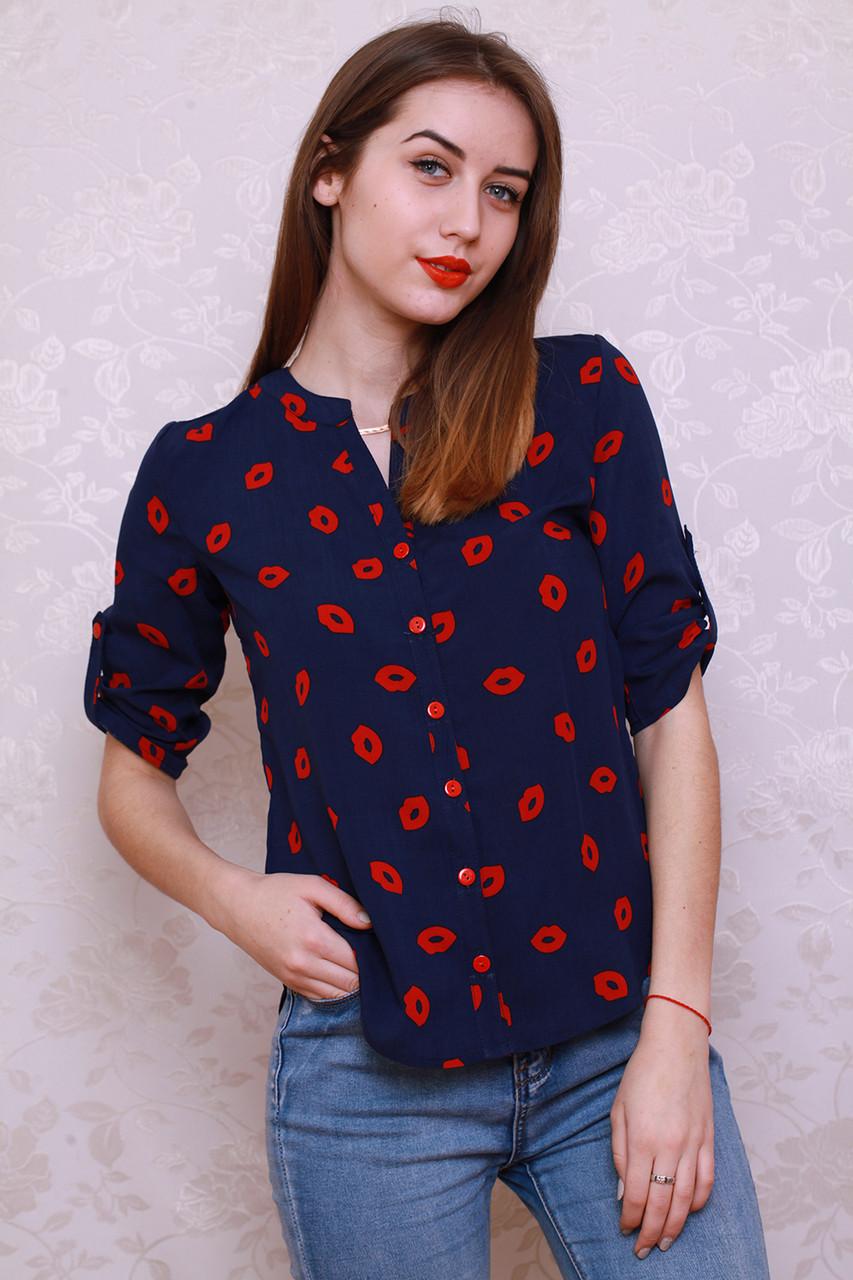 Очень модная и стильная рубашка из штапеля.