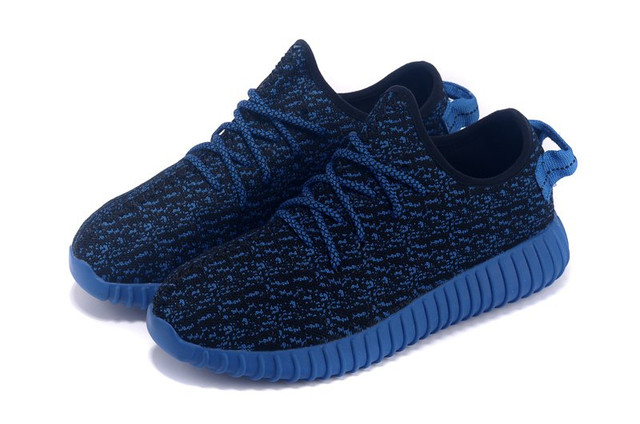 Кроссовки мужские Adidas Yeezy Boost 350 Low Navy Blue